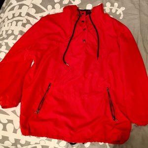 Forever21 red windbreaker